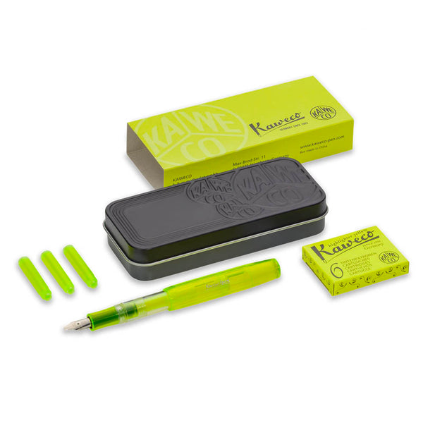 Kaweco ICE Sport Set Highlighter Yellow