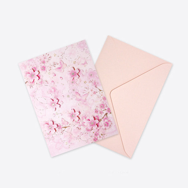 D'Won 3D Pop-up Card - Butterfly Dark Pink - Cityluxe
