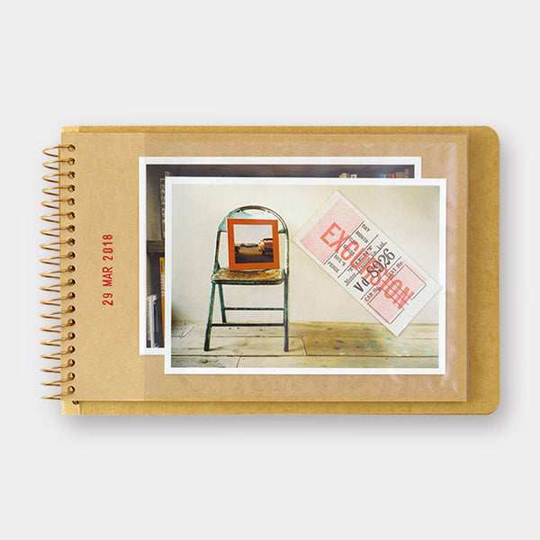 Traveler's Company Spiral Ring Notebook <B6> Photo File