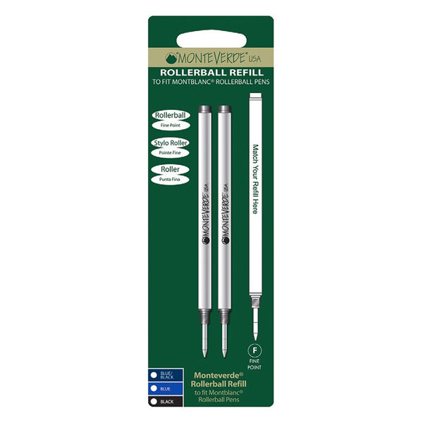 Monteverde 888 Ceramic Refill To Fit Capped Rollerball Pen