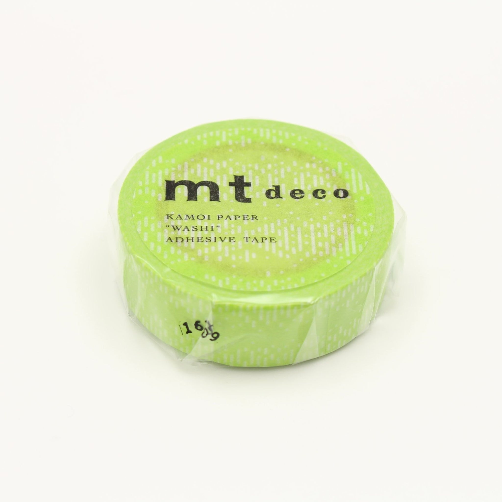mt Water Drop Gradation Green washi tape