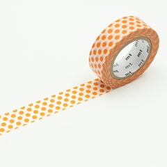 MT Deco Washi Tape Dot Mandarin