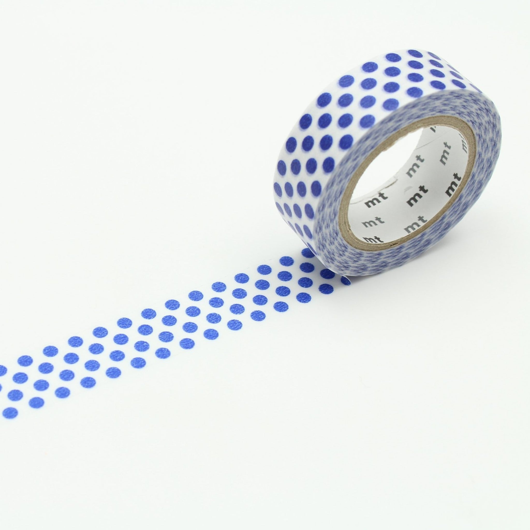MT Deco Washi Tape Dot Night Blue