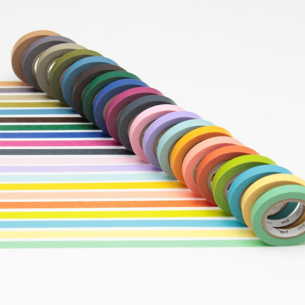 MT Bright & Cool Colour washi tape set (MT20P002)