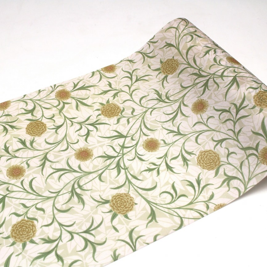 MT Casa Fleece 230mm (5m Length) Morris & Co. Scroll And Flower