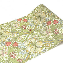 Load image into Gallery viewer, MT Casa Fleece 230mm (5m Length) Morris & Co. Golden Lily