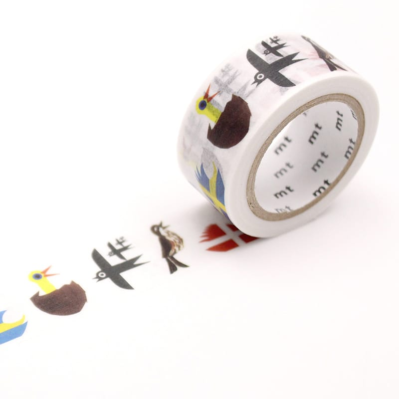 MT x Erik Bruun Washi Tape Bird