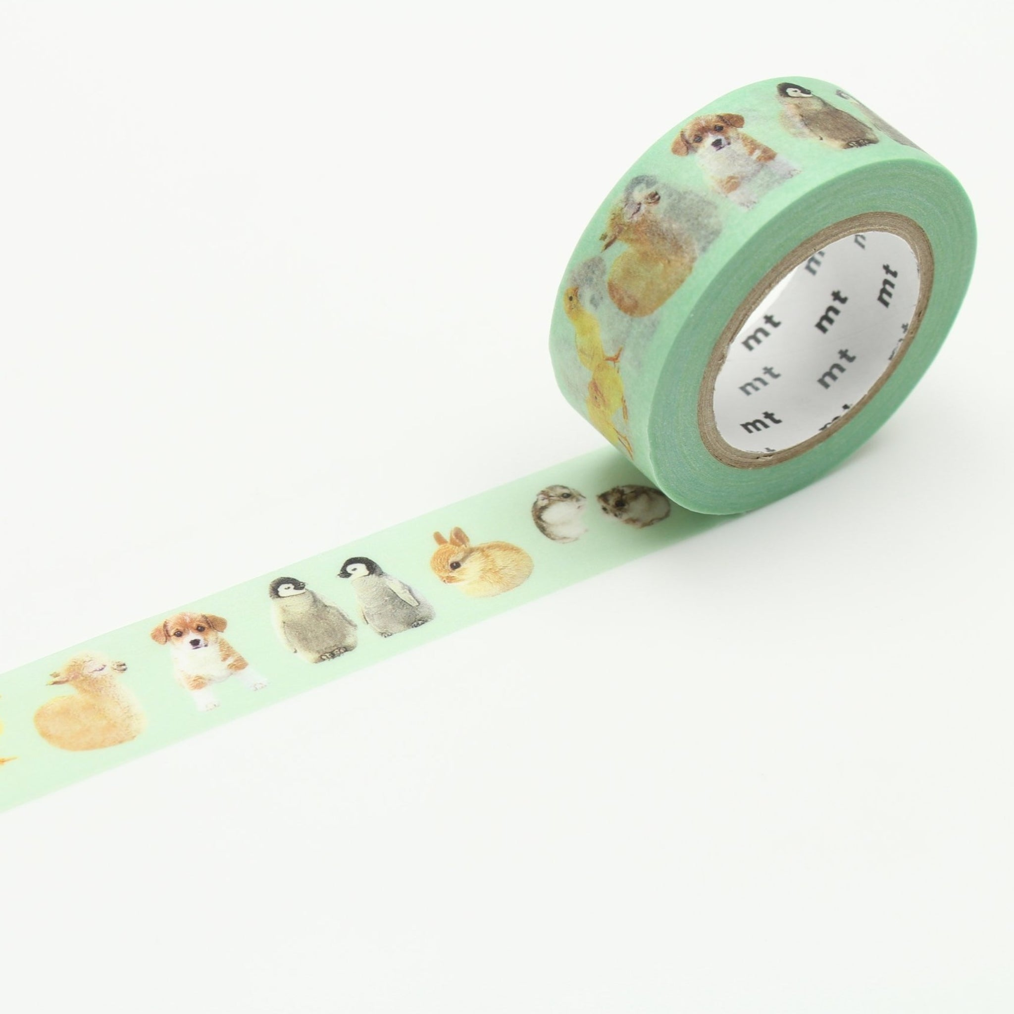 MT EX Washi Tape Baby Animals