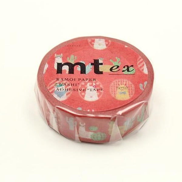MT EX Washi Tape Cheeky Little Llama