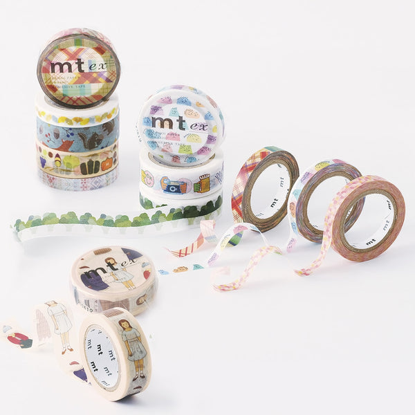 MT EX Washi Tape Overlapping Watercolors
