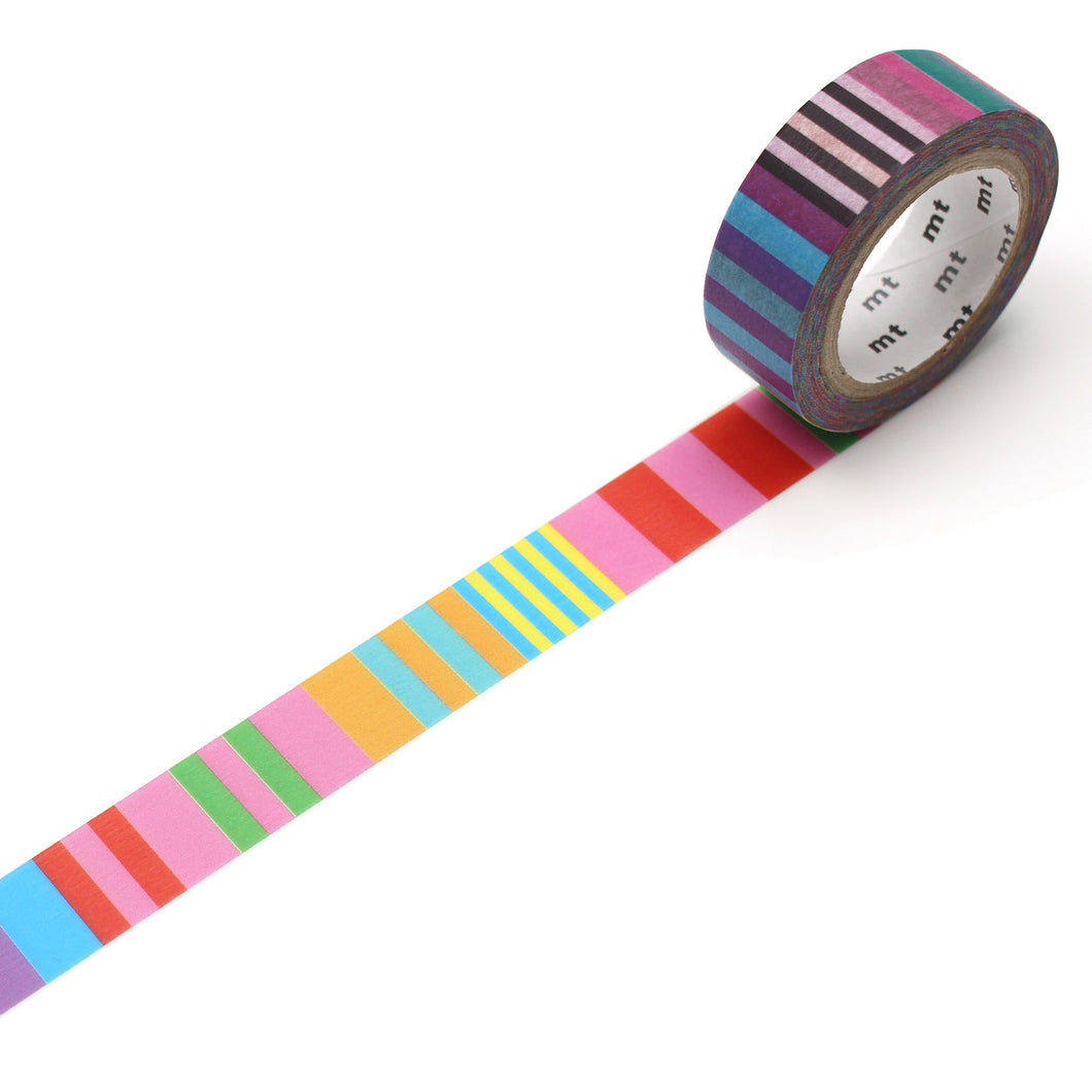 MT x Kapitza Washi Tape Candy Stripe