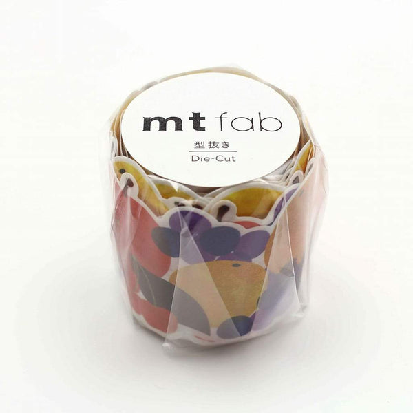 MT Fab Washi Tape Fruits