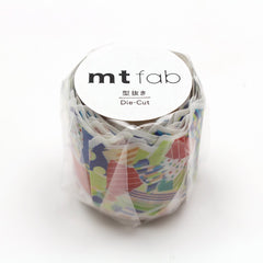 MT Fab Washi Tape Torn Paper