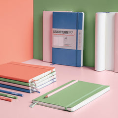 Leuchtturm1917 Hardcover A5 Medium Notebook Powder - Dotted