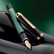 Load image into Gallery viewer, Pelikan Souverän® M800 Fountain Pen Black-Green