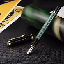 Load image into Gallery viewer, Pelikan Souverän® M400 Fountain Pen Black-Green