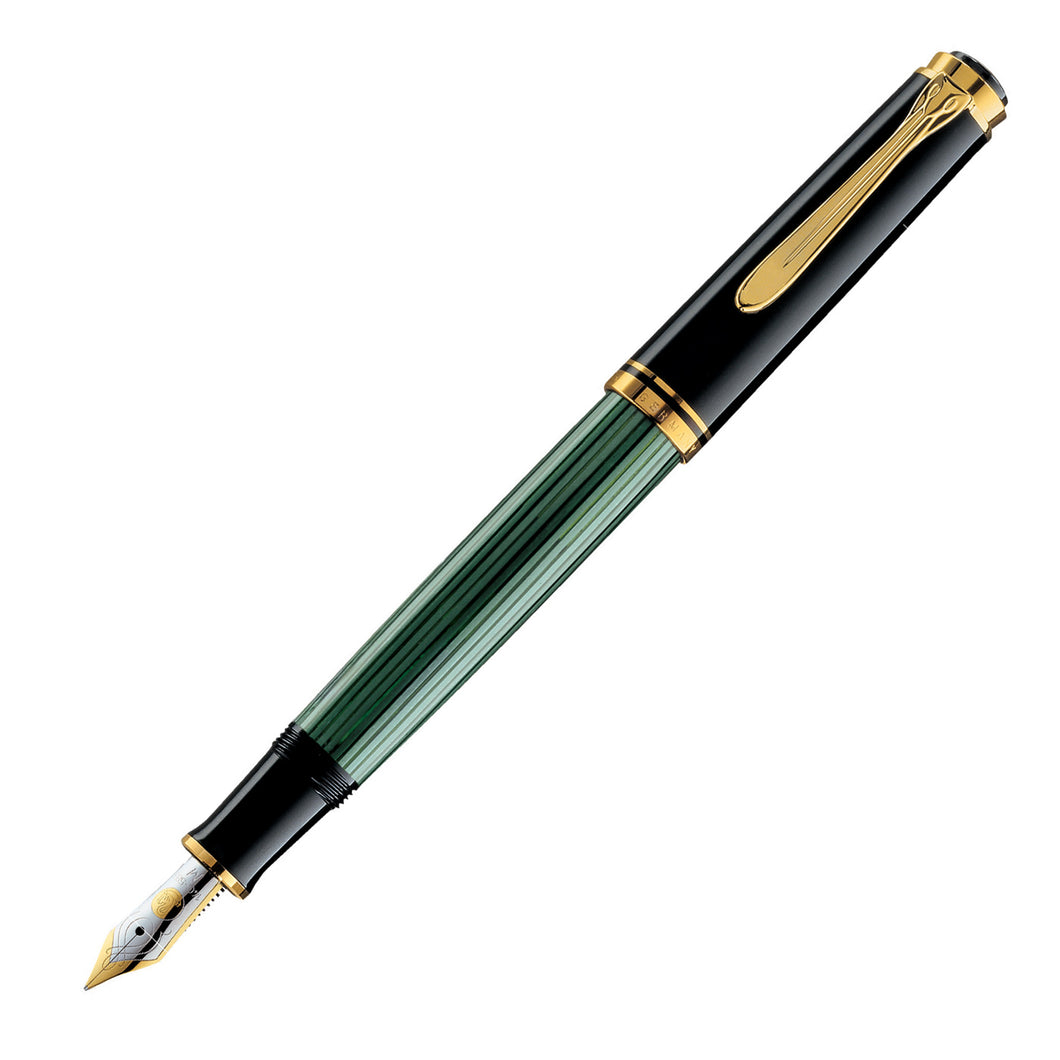 Pelikan Souverän® M400 Fountain Pen Black-Green