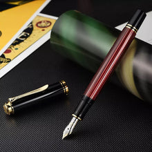 Load image into Gallery viewer, Pelikan Souverän® M400 Fountain Pen Black-Red