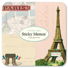 Load image into Gallery viewer, Cavallini Sticky Memo Vintage Paris