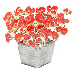 D'Won 3D Pop Up Card Flower In A Bucket