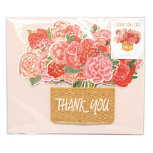 Load image into Gallery viewer, D'Won 3D Pop Up Card Thank You Flower In A Basket