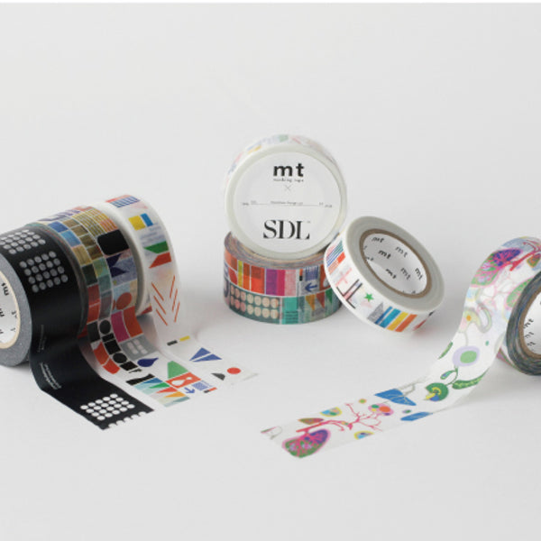 MT x SDL Washi Tape Remixed Shapes