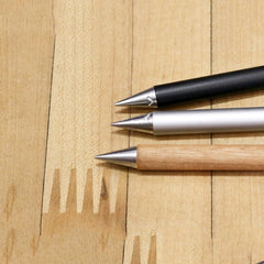 Axel Weinbrecht Metal Inkless Pen Cherry Wood