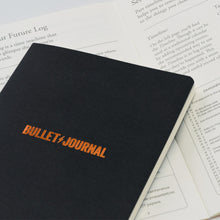 Load image into Gallery viewer, Leuchtturm1917 Bullet Journal Edition 2 A5 Medium Notebook Black