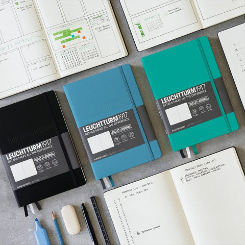 Leuchtturm1917 Bullet Journal A5 Medium Notebook Emerald