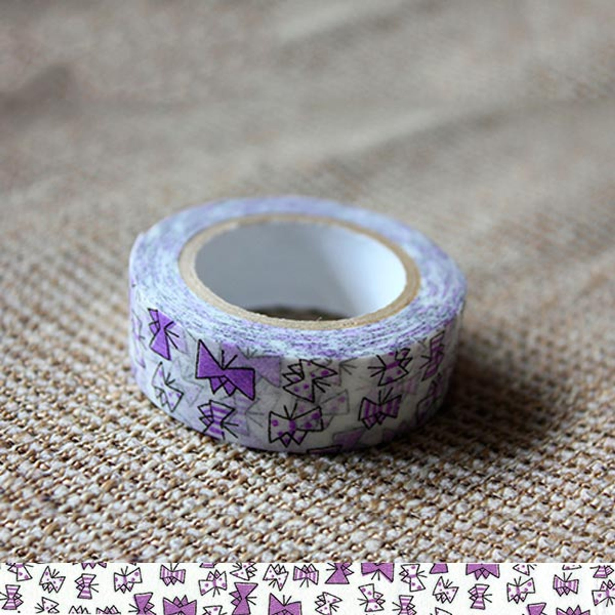 Classiky x Tomomi Irago Butterfly Purple Washi Tape