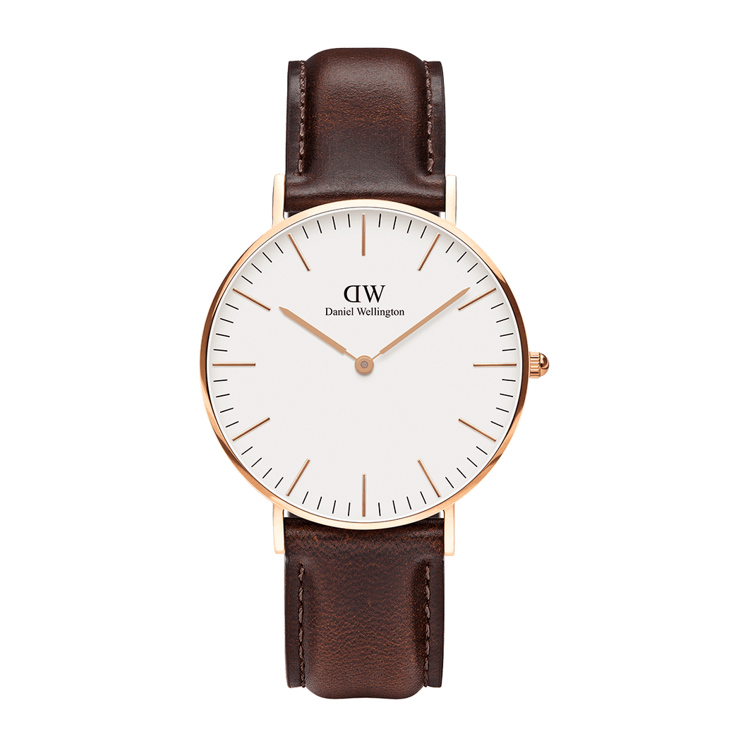Daniel Wellington Classic Bristol 40mm Rose Gold Watch (without box)