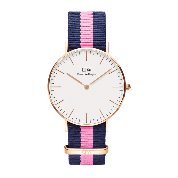 Daniel Wellington Classic Winchester Rose Gold 36mm Watch - MOMOQO