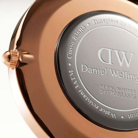 Daniel Wellington Classic Canterburry Rose Gold 40mm Watch - MOMOQO