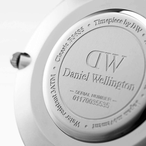 Daniel Wellington Classic Sheffield Silver 40mm Watch (without box)