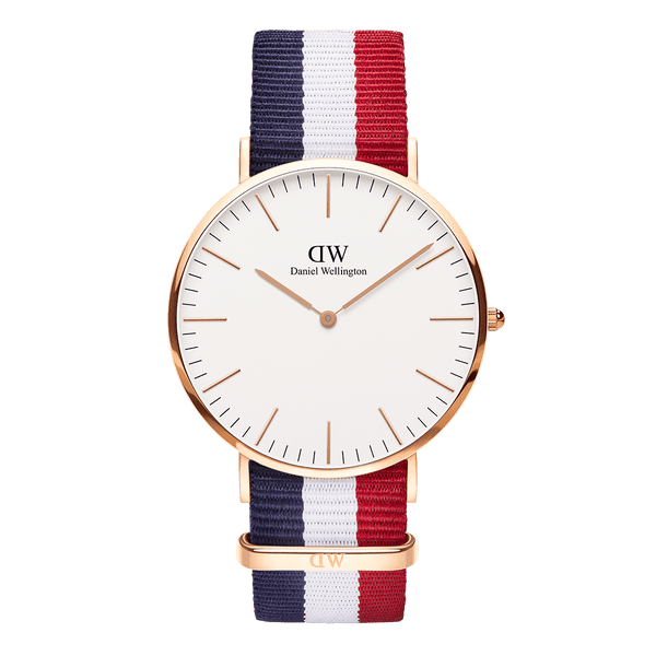 Daniel Wellington Classic Cambridge Rose Gold 40mm Watch - MOMOQO