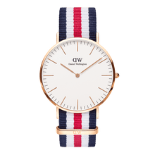 Load image into Gallery viewer, Daniel Wellington Classic Canterburry Rose Gold 40mm Watch - MOMOQO