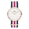 Daniel Wellington Classic Canterburry Rose Gold 40mm Watch
