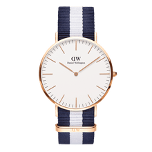 Load image into Gallery viewer, Daniel Wellington Classic Glasgow Rose Gold 40mm Watch - MOMOQO