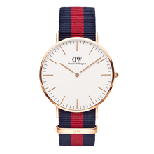 Load image into Gallery viewer, Daniel Wellington Classic Oxford Rose Gold 40mm Watch - MOMOQO