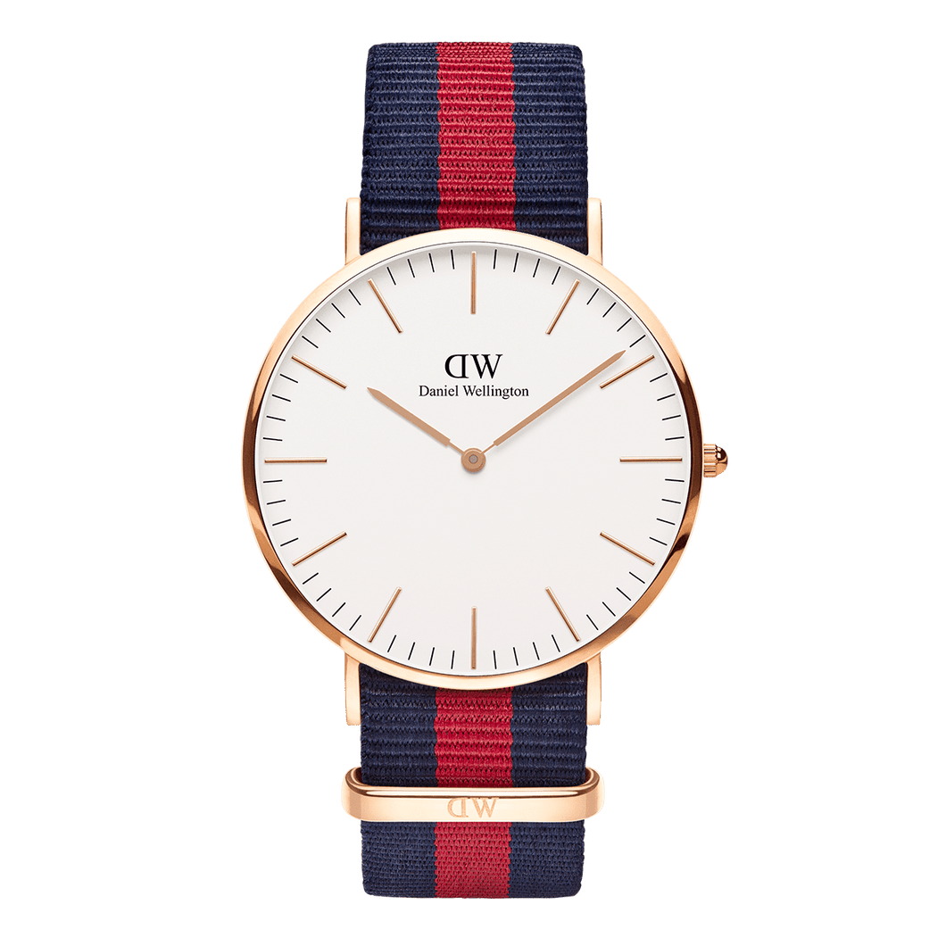 Daniel Wellington Classic Oxford Rose Gold 40mm Watch - MOMOQO