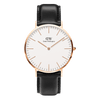 Daniel Wellington Classic Sheffield Rose 40mm Gold Watch