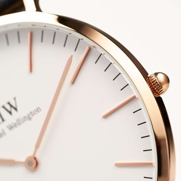 Daniel Wellington Classic York 40mm Rose Gold Watch - MOMOQO