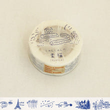 Load image into Gallery viewer, Classiky x Shunshun France Washi Tape