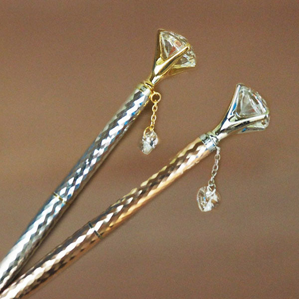 Helen Kelly Diamond Charm Pen - MOMOQO