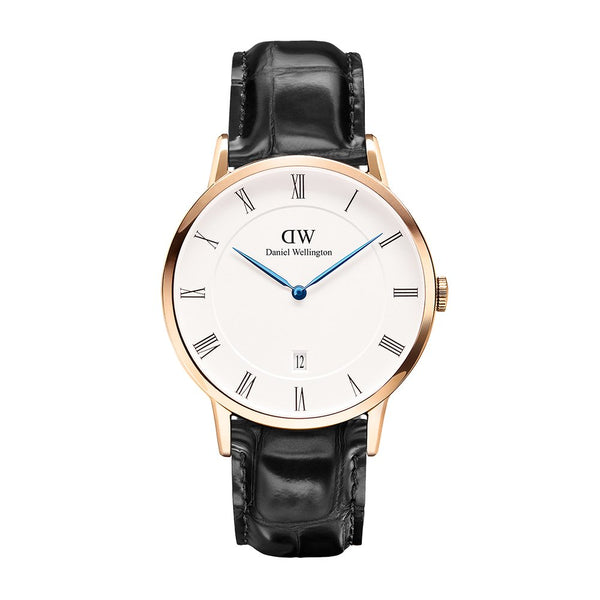 Daniel Wellington Dapper Reading Rose Gold 38mm Watch - MOMOQO