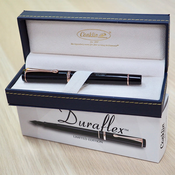 Conklin Duraflex Limited Edition Fountain Pen (Flex Nib) - Cityluxe