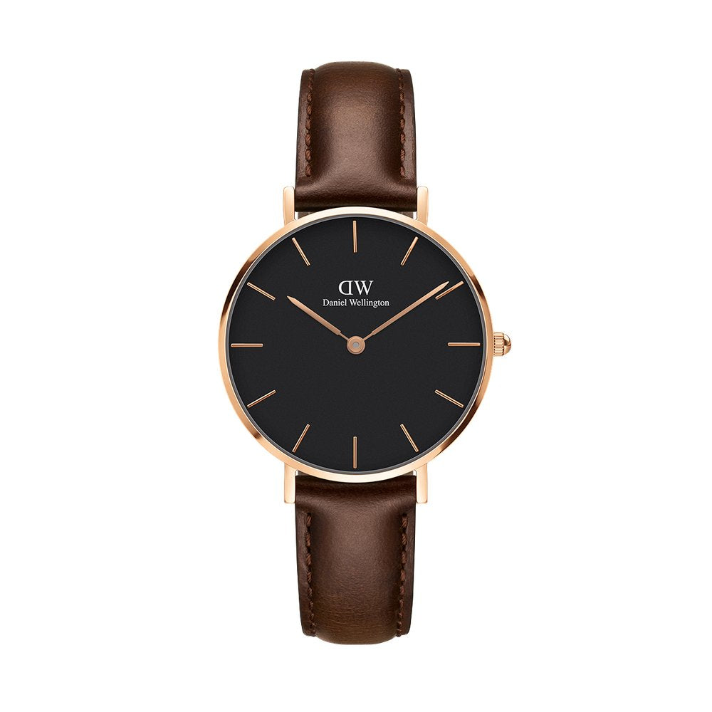 Daniel Wellington Classic Petite Bristol 32mm Rose Gold Watch (without box)