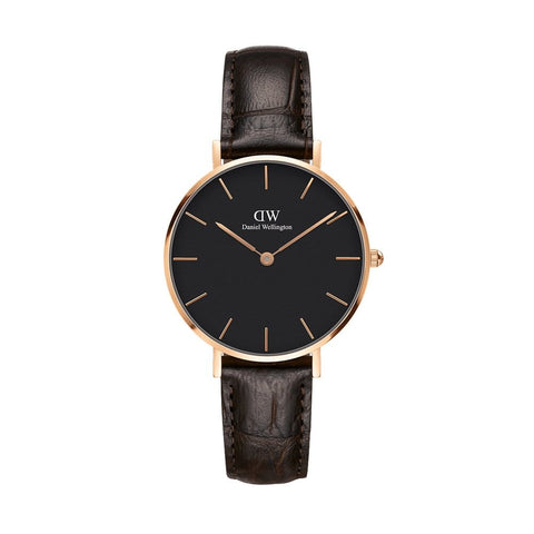 Daniel Wellington Classic Petite York 32mm Rose Gold Watch