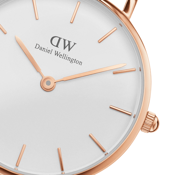 Daniel Wellington Petite Bristol 28mm Rose Gold Watch (without box)