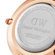 Load image into Gallery viewer, Daniel Wellington Classic Petite Bristol 28mm Rose Gold Watch (without box)